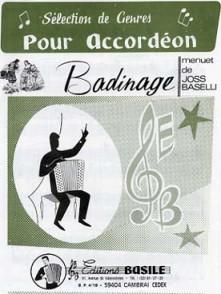 BASELLI J. BADINAGE ACCORDEON