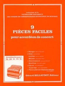 PIECES FACILES ACCORDEON