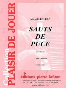 LECLERC M. SAUTS DE PUCE PIANO