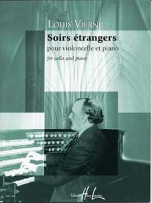 VIERNE L. SOIRS ETRANGERS VIOLONCELLE
