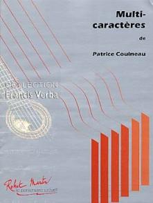 COUINEAU P. MULTI-CARACTERES GUITARE