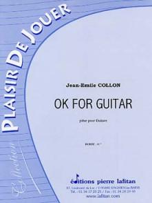 COLLON J.E. OK FOR GUITAR GUITARE