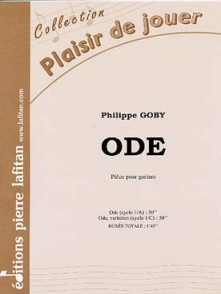 GOBY P. ODE GUITARE