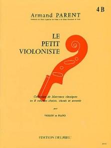 LE PETIT VIOLONISTE VOL 4B VIOLON