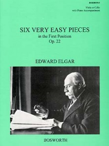 ELGAR E. VERY EASY PIECES OP 22 ALTO