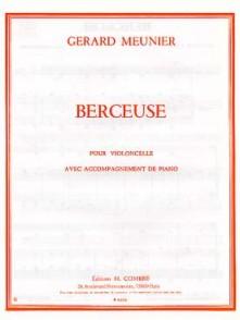 MEUNIER G. BERCEUSE VIOLONCELLE