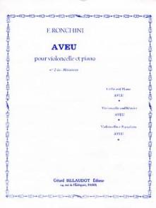 RONCHINI F. AVEU VIOLONCELLE