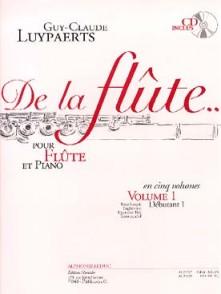 LUYPAERTS G.C. DE LA FLUTE VOL 1