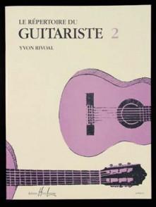 RIVOAL Y. LE REPERTOIRE DU GUITARISTE 2