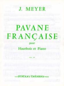 MEYER J. PAVANE FRANCAISE HAUTBOIS