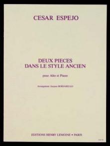 ESPEJO C. DEUX PIECES DANS LE STYLE ANCIEN ALTO