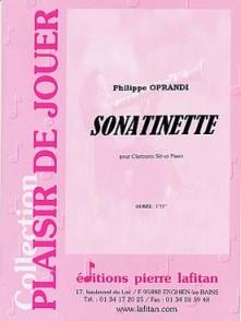 OPRANDI P. SONATINETTE CLARINETTE