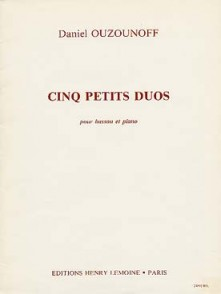 OUZOUNOFF D. PETITS DUOS BASSONS