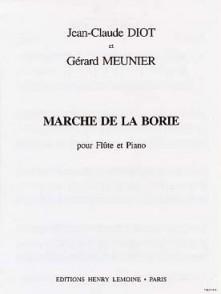 MEUNIER G./DIOT J.C. MARCHE DE LA BORRIE FLUTE