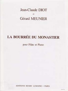 MEUNIER G./DIOT J.C. BOURREE DU MONASTIER FLUTE