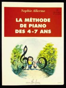 ALLERME S. METHODE DE PIANO DES 4 - 7 ANS