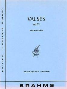 BRAHMS J. VALSES OP 39 PIANO