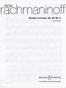 RACHMANINOV S. PRELUDE  OP 23 N°5 PIANO