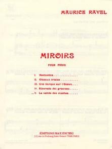 RAVEL M. MIROIRS: LA VALLEE DES CLOCHES PIANO