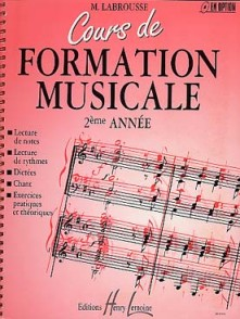 LABROUSSE M. COURS DE FORMATION MUSICALE 2ME ANNEE