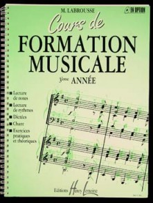 LABROUSSE M. COURS DE FORMATION MUSICALE 3ME ANNEE