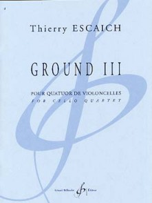 ESCAICH T. GROUND III VIOLONCELLES