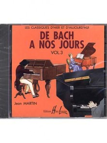 DE BACH A NOS JOURS VOL 3 PIANO CD