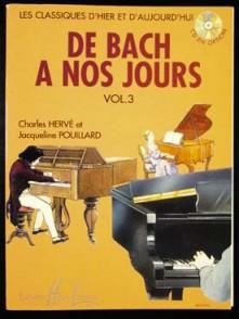DE BACH A NOS JOURS VOL 3 PIANO
