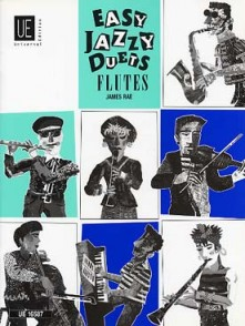 RAE J. EASY JAZZY DUETS FLUTES