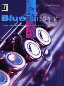CORNICK M. BLUE BAROQUE FLUTE