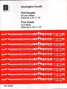 CORELLI A. DUETS OP 5 FLUTES