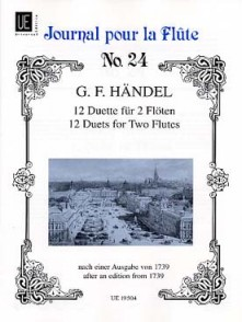 HAENDEL G.F. DUETS FLUTES