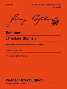 SCHUBERT F. VARIATIONS ON TROCKNE BLUMEN FLUTE