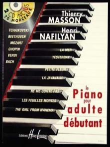 MASSON T. LE PIANO POUR ADULTE DEBUTANT
