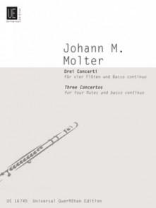 MOLTER J.M. CONCERTI FLUTES