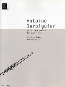 BERBIGUIER A.B. T. DUOS FACILES FLUTES