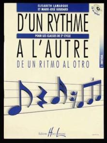 LAMARQUE E./GOUDARD M.J. D'UN RYTHME A L'AUTRE VOL 1