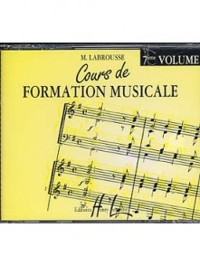LABROUSSE M. COURS DE FORMATION MUSICALE 7ME ANNEE CD