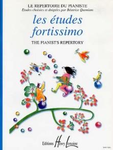 ETUDES FORTISSIMO PIANO