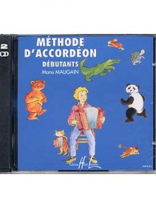 MAUGAIN M. METHODE ACCORDEON VOL 1 CD