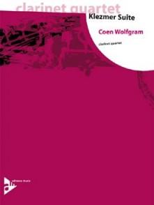 WOLFGRAM C. KLEZMER SUITE QUATUOR CLARINETTES