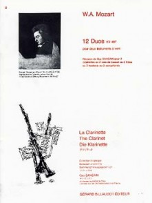 MOZART W.A. DUOS K 487 CLARINETTES