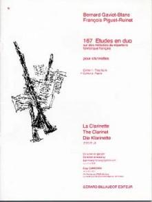 GAVIOT-BLANC B. 167 ETUDES EN DUOS VOL 2 CLARINETTES