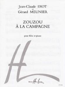MEUNIER G./DIOT J.C. ZOUZOU A LA CAMPAGNE FLUTE