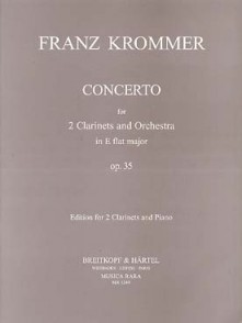 KROMMER F. CONCERTO OP 35 CLARINETTES