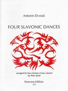 DVORAK A. SLAVONIC DANCES CLARINETTES