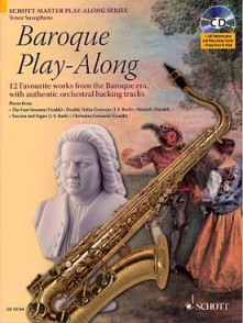 BAROQUE PLAY-ALONG SAXOPHONE TENOR