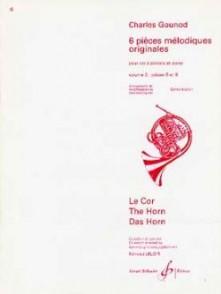 GOUNOD C. 6 PIECES MELODIQUES ORIGINALES VOL 3 COR