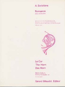 SCRIABINE A. ROMANCE COR