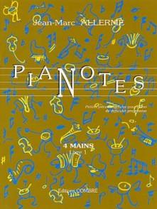 ALLERME J.M. PIANOTES LIVRE 1 PIANO 4 MAINS